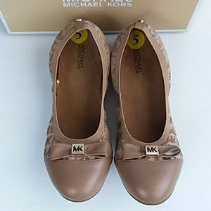 Michael Kors Youth Girl's May Ballet Shoes